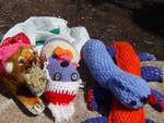 Yarn bombing giardini luzzati