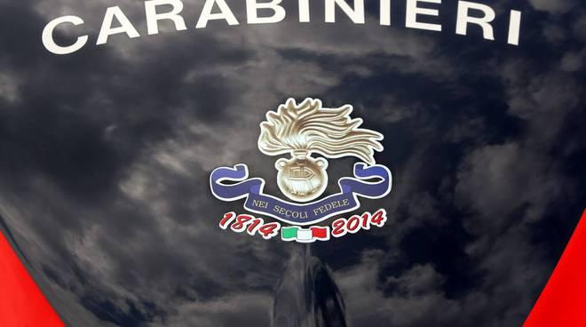 Carabinieri con logo 200 anni