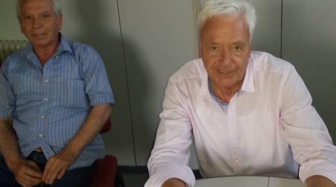 il presidente Mario Pistone e il Direttore generale Lucio Robustelli
