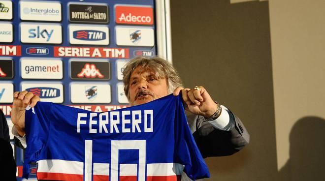 massimo ferrero presidente sampdoria