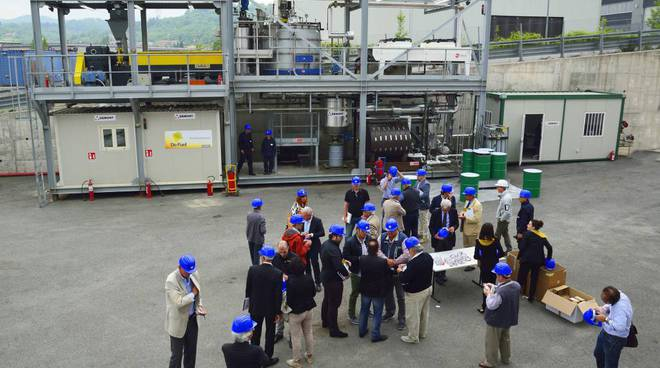Millesimo - presentazione impianto De Fuel