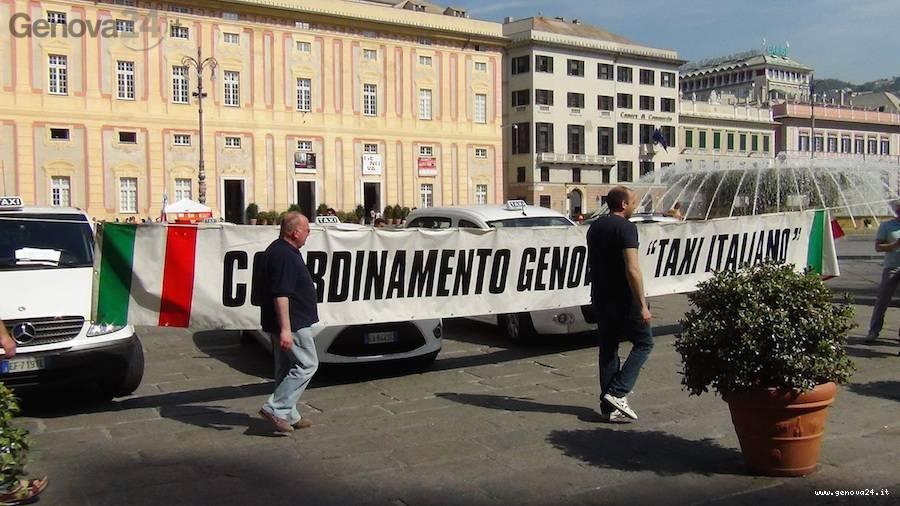 protesta taxi 11 giugno 2014