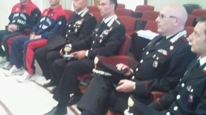 regione riconoscimento carabinieri alassio