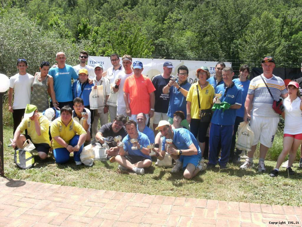 Tennis: il torneo nazionale FisDir di Garlenda