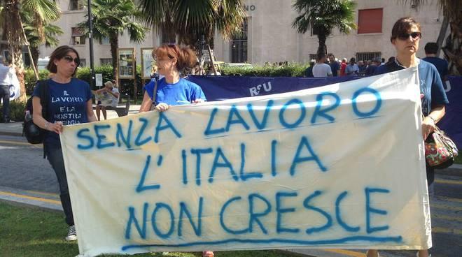 Tirreno Power protesta
