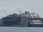 Costa Concordia ormeggiata