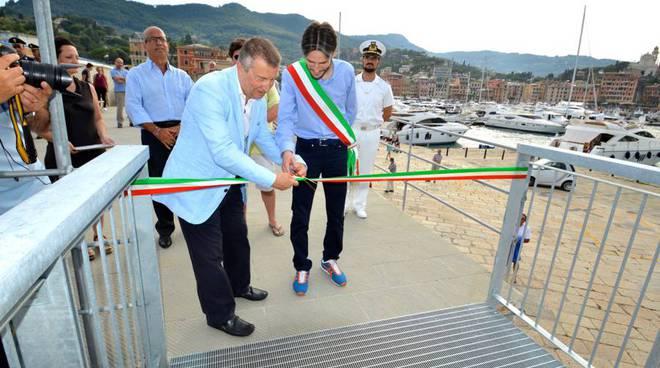 diga foranea passeggiata santa margherita inaugurazione sindaco donadoni