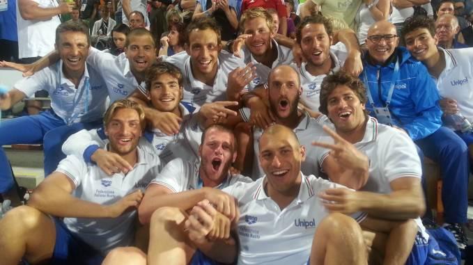 Italia pallanuoto maschile