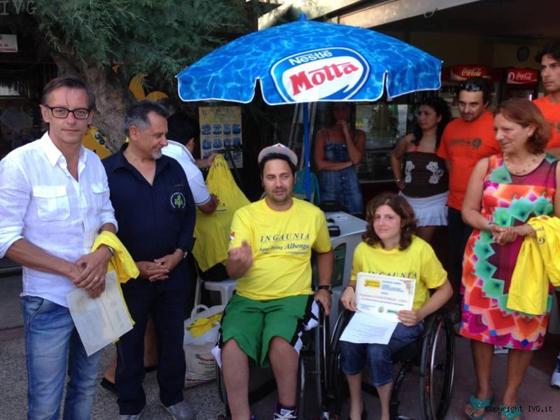 paraplegici albenga