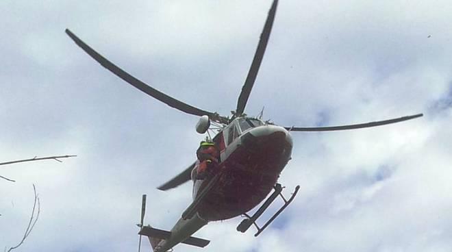 soccorso con elicottero