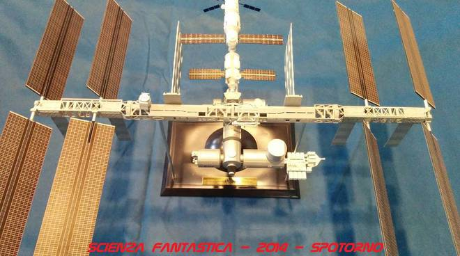 stazione spaziale iss fantascienza scienza fantastica spotorno