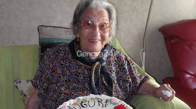 Celestina Gardella, centenaria