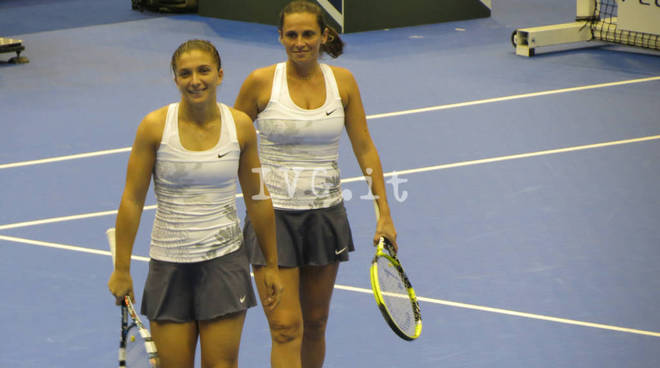 Errani Vinci tennis fed cup