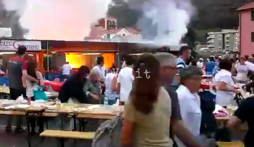 Esplosione sagra varazze