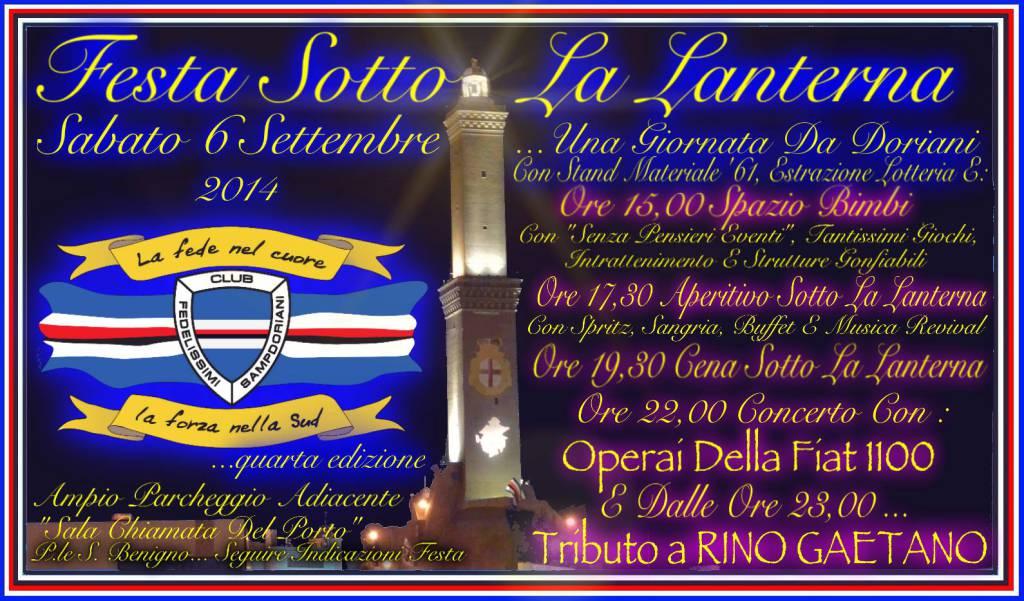 Festa sotto la Lanterna Sampdoria