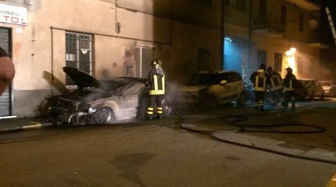 Incendio via Sonnino Rivarolo