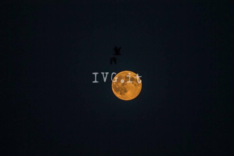 La superluna di agosto