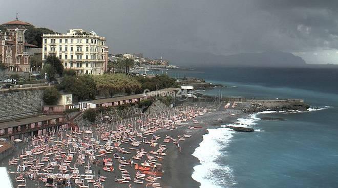 Nuvole spiaggia corso italia