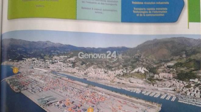 Porto di Genova sui libri francesi