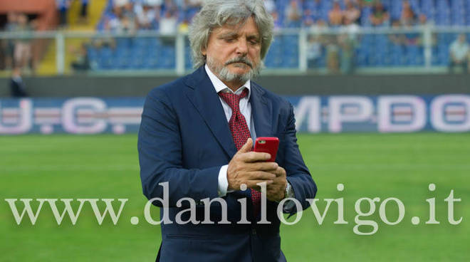 Sampdoria, Ferrero non demorde: