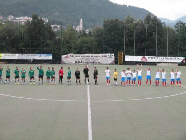 calcio femminile Lagaccio Molassana