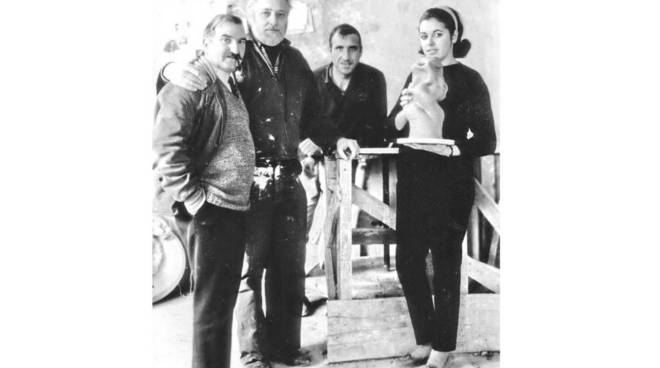 Ceramiche San Giorgio: Eliseo Salino, Asger Jorn, Giovanni Poggi, Silvana Priametto.