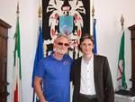 Eddie Irvine e Paolo Donadoni