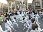 fencing flash mob scherma