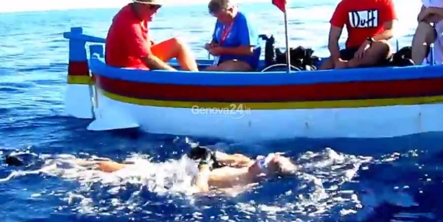 Jost Lang, nuotatore tetraplegico