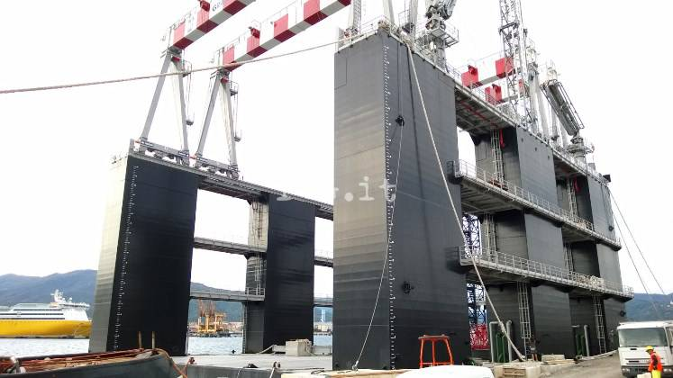 Maersk, impianto costruzione cassoni