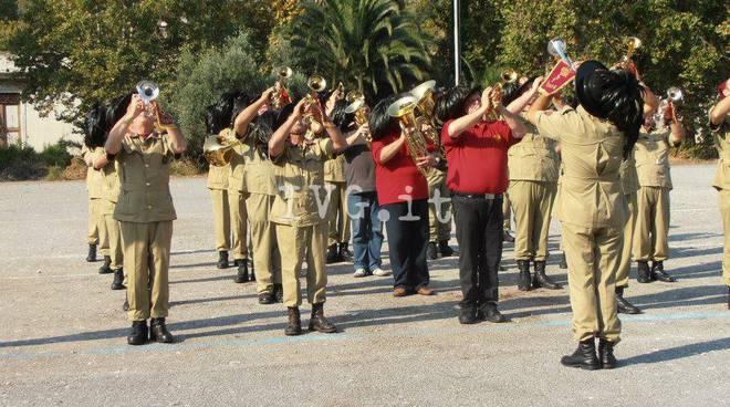 Raduno bersaglieri ex caserma Piave Albenga