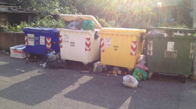 spazzatura Albenga