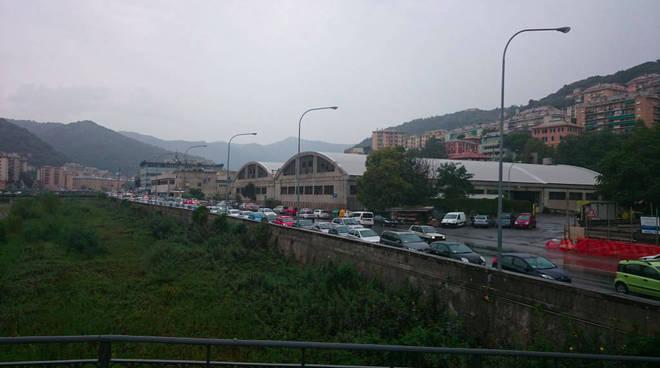 valbisagno pioggia si tram comitato
