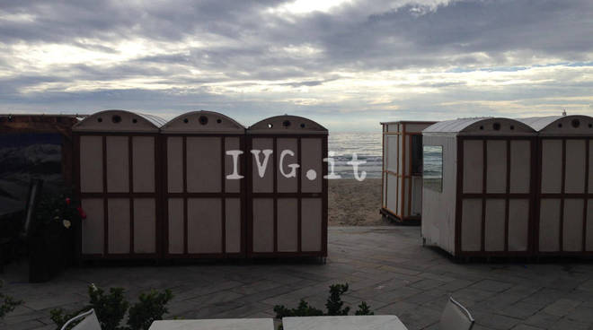 alassio cabine mare spiaggia
