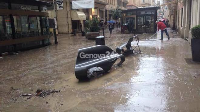 alluvione 9 ottobre, alluvione, genova