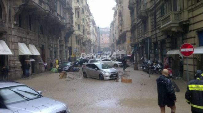 alluvione 9 ottobre genova