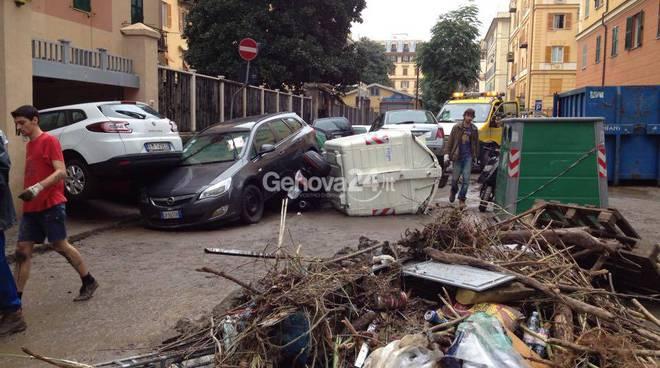 Alluvione Genova: sabato