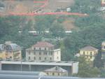 Alluvione Genova: voragini e frane