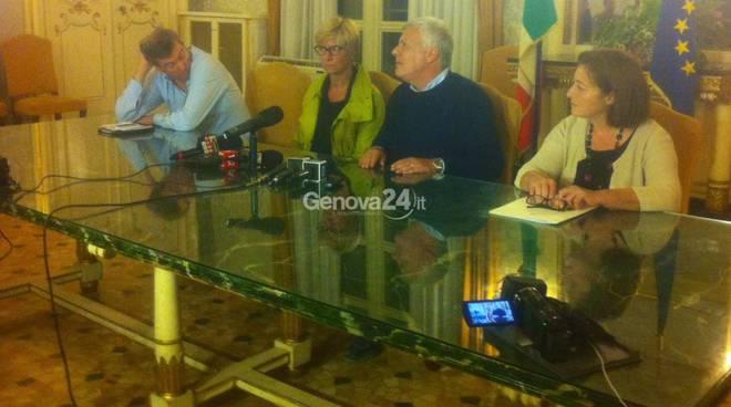 alluvione ministri Galletti Pinotti