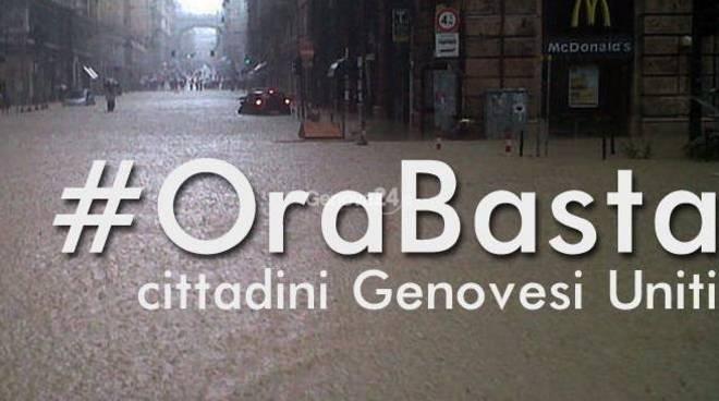 alluvione, #orabasta