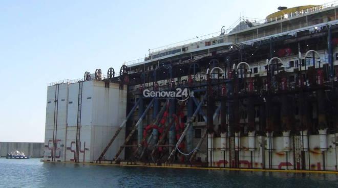 Costa Concordia demolizione