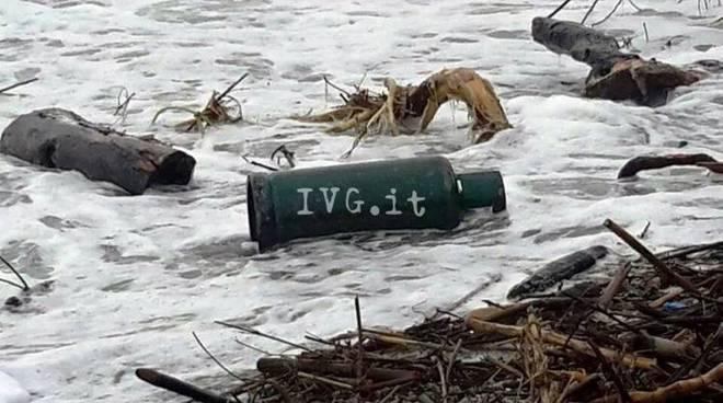 Detriti alluvione a Vado e Noli