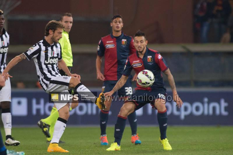 Genoa Vs Juventus marchisio greco