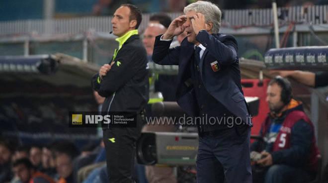 Genoa Vs Juventus gasperini