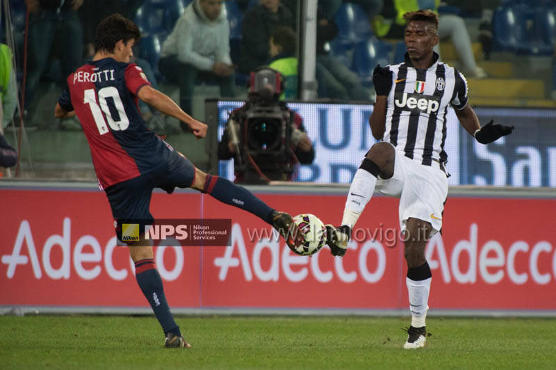 Genoa Vs Juventus perotti pogba