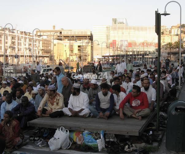 Genova, Festa musulmana del Sacrificio