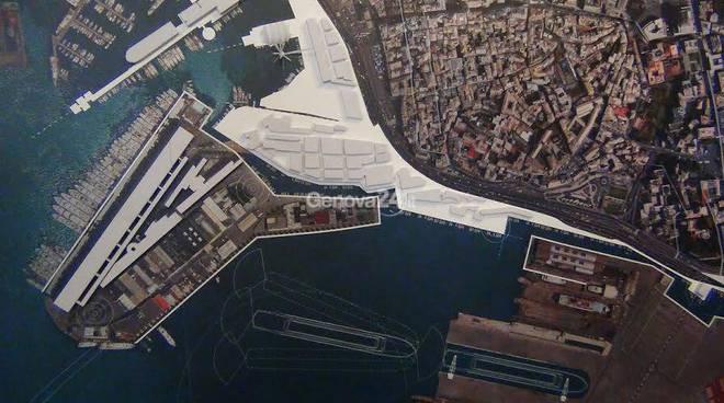waterfront, il progetto dell'area portuale e della nuova torre piloti