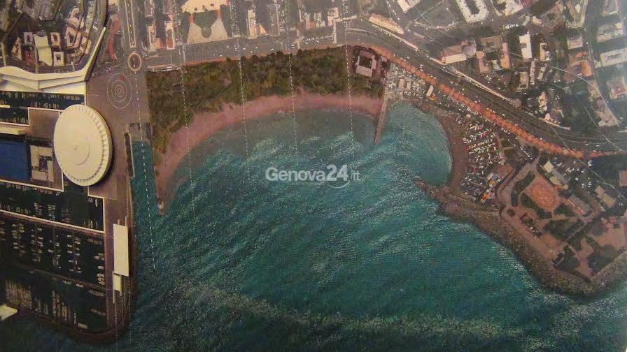 Il progetto dell'area portuale e della nuova torre piloti