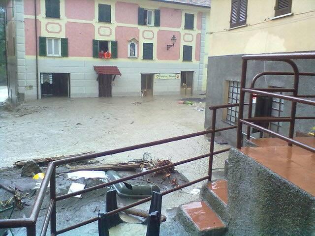 impastatrice genova montoggio alluvione