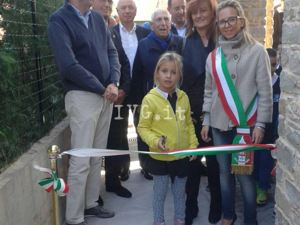 Inaugurazione palestra comunale Garlenda